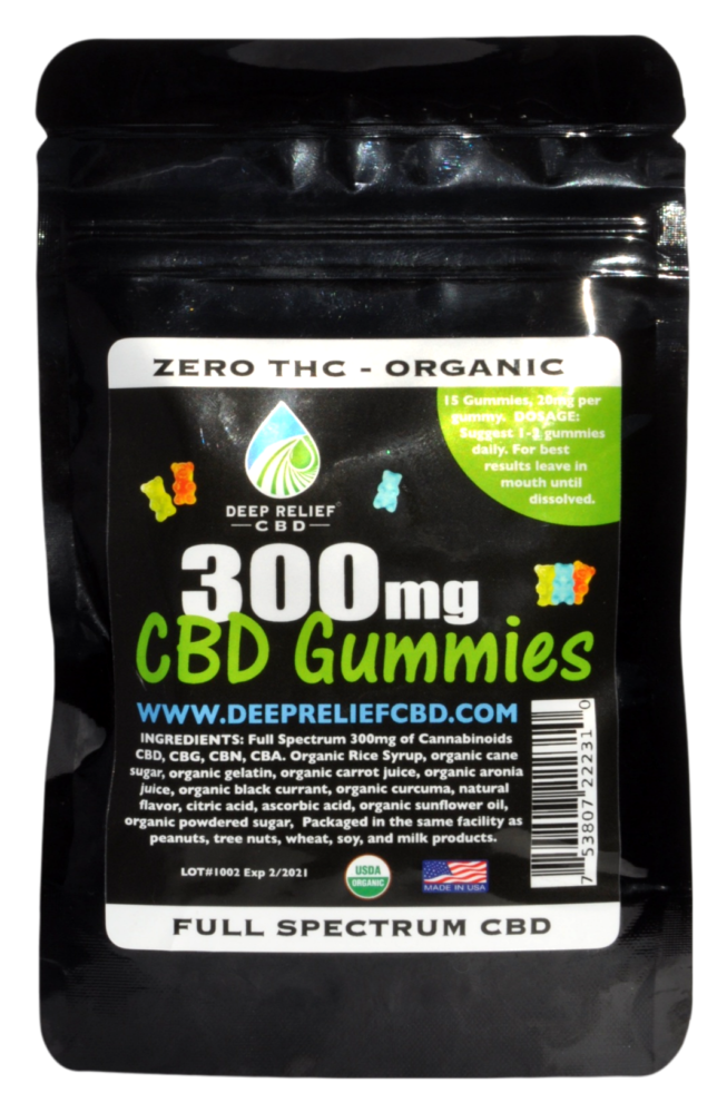 CBD Gummy Bears 125 MG